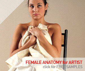 Female-Anatomy-for-Artist.com - Royalty free photo references
