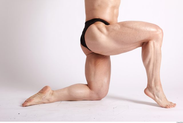 Photo of Leg Man Animation references White Sports Swimsuit Muscular