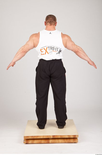Photo of Whole Body Man Animation references White Sports Muscular