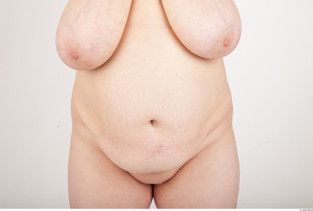 Photo of Belly Woman White Nude Chubby