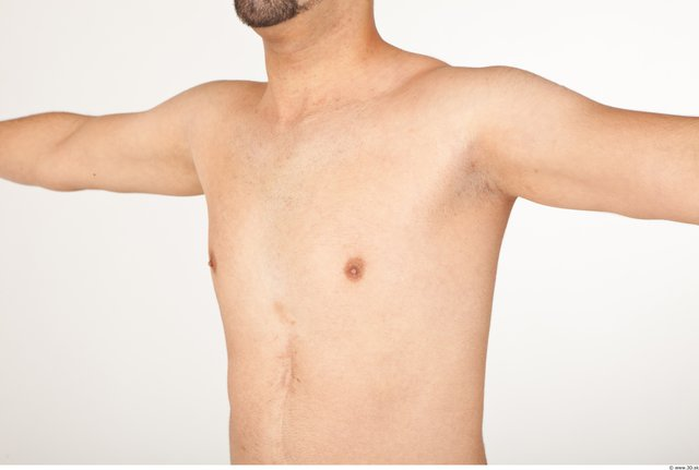Photo of Chest Man White Nude Athletic