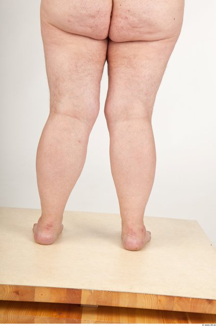 Photo of Calf Woman White Overweight