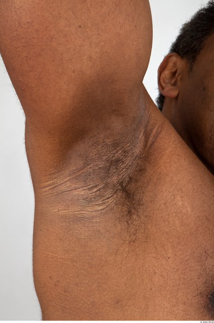 Photo of Underarm Man Black Medieval Muscular