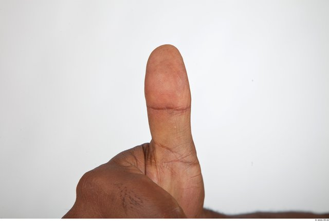 Photo of Fingers Man Black Nude Muscular
