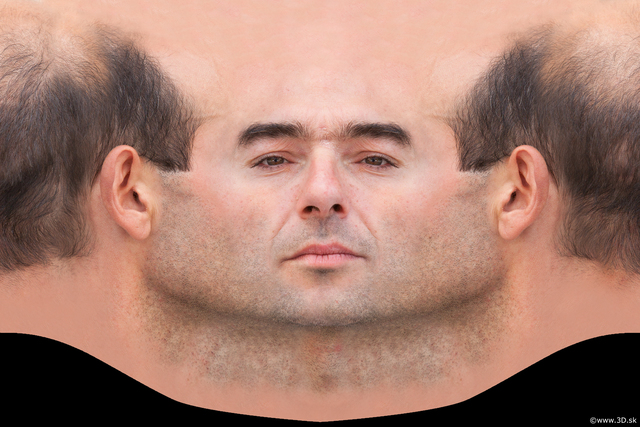 Photo of Head Man White Average Bald