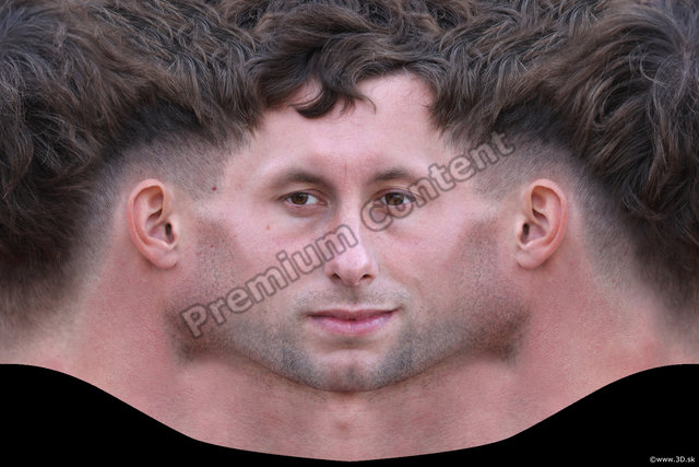 Photo of Head Man White Head textures