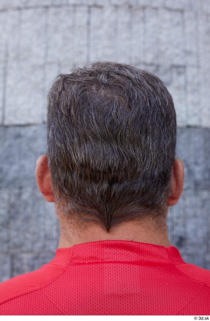 Head Hair Man Casual Chubby Street photo references
