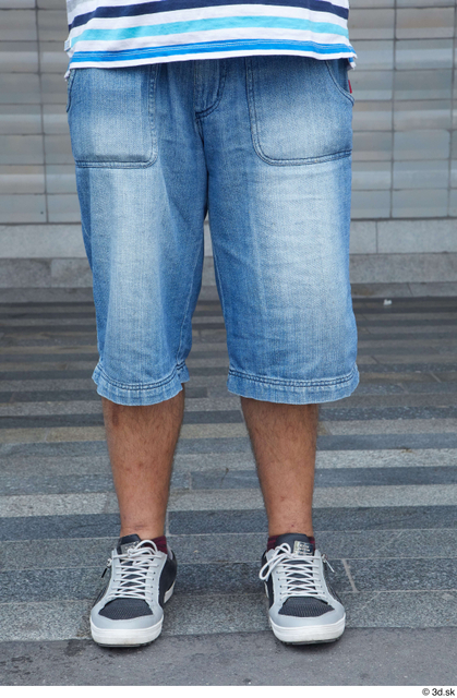 Leg Man White Casual Chubby Bearded Street photo references