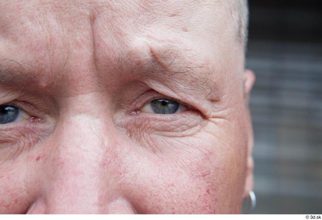 Eye Man White Casual Chubby Street photo references