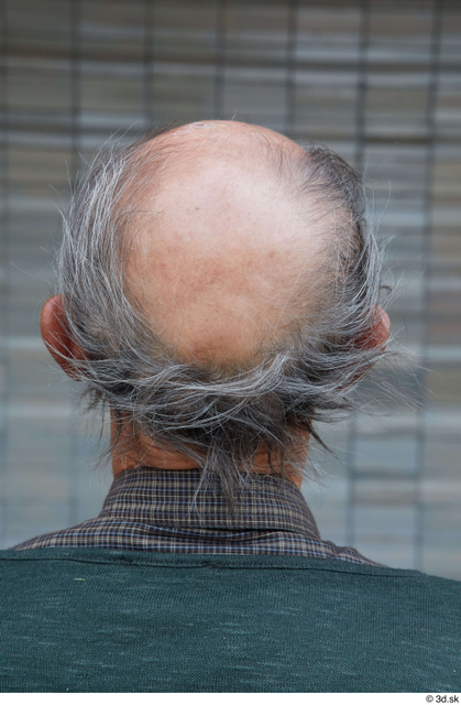 Head Man White Casual Bald Street photo references