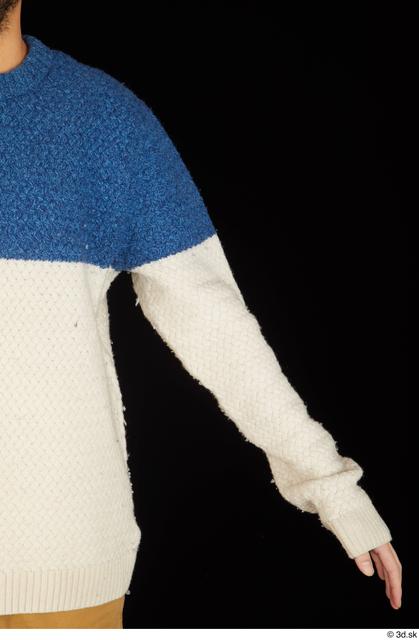 Arm Upper Body Man Sweater Slim Studio photo references