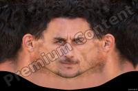 White man premade head texture 0002