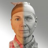 3D head scan of neutral emotion - Iveta
