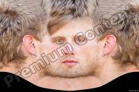 White head male premade texture 0001