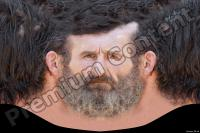 White head old male premade texture 0009
