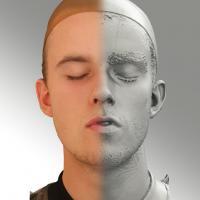 3D head scan of O phoneme - Jirka
