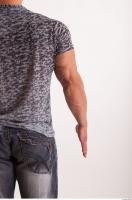Arm moving reference jeans tshirt of Sebastian 0006