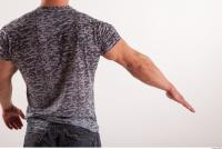 Arm moving reference jeans tshirt of Sebastian 0007