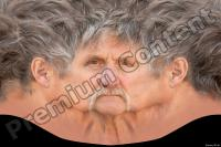Old male head premade texture 0001