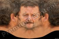 Old male head premade texture 0002
