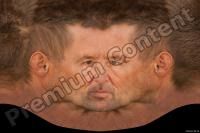 Old male head premade texture 0003