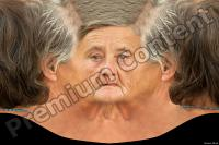 Old woman head texture 0001