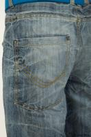 Pelvis blue jeans shorts of Wesley 0005