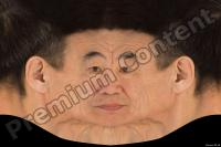 Korean old man head premade texture 0004