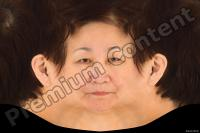 Old woman head premade texture 0004