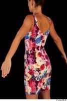 Upper body colored dress of Little Caprice 0005