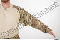 Soldier in American Army Military Uniform 0014