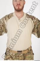Soldier in American Army Military Uniform 0012