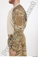 Soldier in American Army Military Uniform 0021