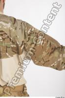 Soldier in American Army Military Uniform 0028