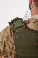 Soldier in American Army Military Uniform 0063