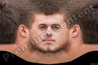 Young man head premade texture 0002