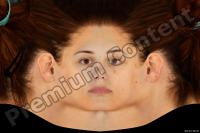 Young woman head premade texture 0004