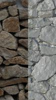 RAW 3D Scan of Wall Stones #02