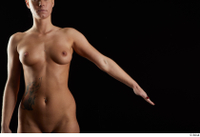 Chrissy Fox  1 arm flexing front nude 0002.jpg