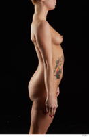 Chrissy Fox  1 arm flexing nude side 0001.jpg