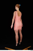 Chrissy Fox dress pink dress standing whole body 0004.jpg