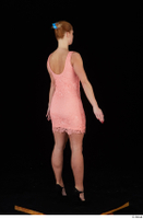 Chrissy Fox dress pink dress standing whole body 0006.jpg