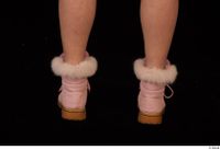 Cayla Lyons foot pink winter shoes 0005.jpg