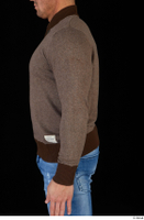 Arnost brown sweatshirt clothing upper body 0003.jpg