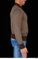 Arnost brown sweatshirt clothing upper body 0008.jpg