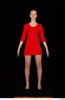 Kyoko clothing red dress standing whole body 0001.jpg
