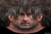 Man head premade texture 0008