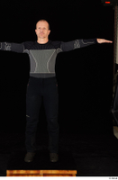 George black thermal underwear clothing standing t-pose whole body 0001.jpg