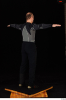 George black thermal underwear clothing standing t-pose whole body 0006.jpg