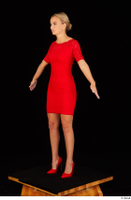 Victoria Pure red dress standing whole body 0008.jpg